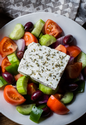 Greek Salad with Ouzo